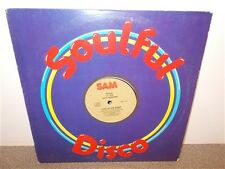 "* Lucy Hawkins . Lady Of The Night / Gotta Get Out Of Here . Sam . 12"" Single"