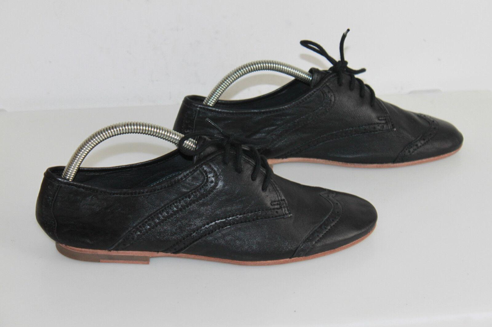 Oxfordschuhe KOAH alle Weichleder schwarz T 41 top Zustand    b9102d