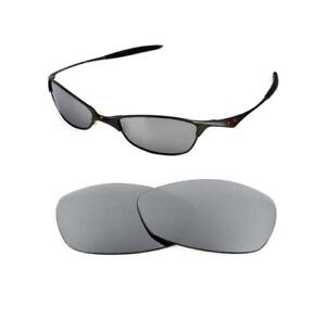 7598a12f36 Image is loading NEW-POLARIZED-TITANIUM-REPLACEMENT-LENS-FOR-OAKLEY-VINTAGE-