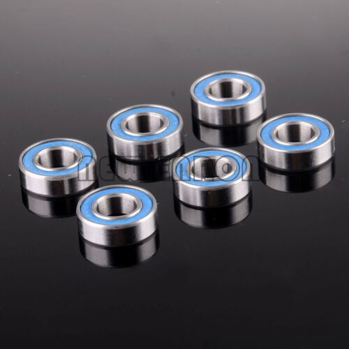 Blue Rubber Sealed Miniature Ball Deep Groove Radial Bearing 688ZZ 8*16*5MM RC