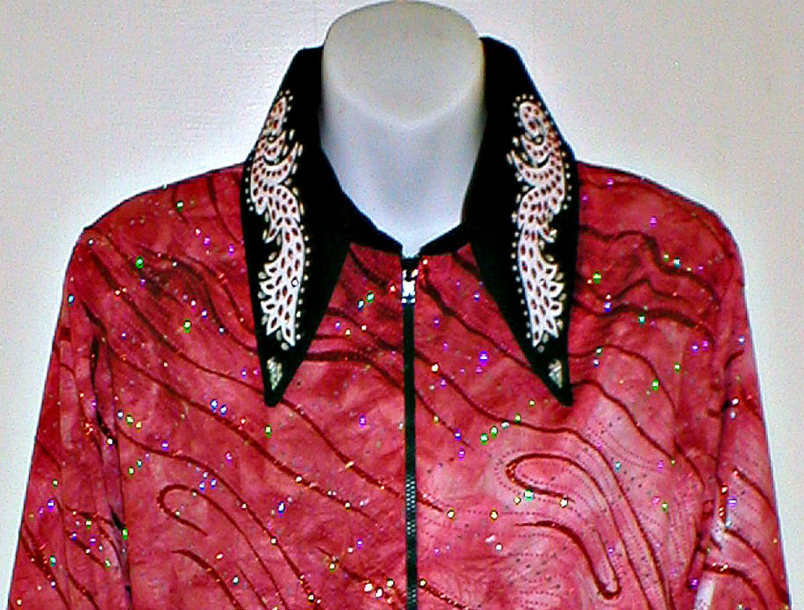 Plus Größe Western Rail, Pleasure, Rodeo, Trail, & Glamour Shirt N 6 Farbe Choices