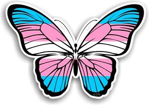 Beautiful Butterfly Design Amp Lgbt Transgender Trans Flag