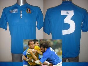 Image is loading Italy-CASTROGIOVANNI-Kappa-Rugby-Union-BNWT-Shirt-Jersey- 02589e1d4