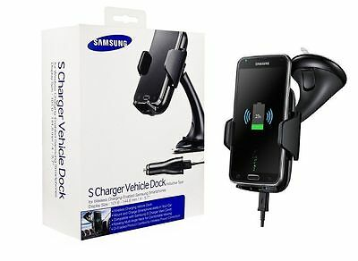 Genuine Samsung Qi Wireless Car S Charger Dock For Galaxy Note7, S6,S7 & EDGE