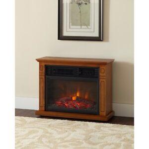 Fan-Forced Heat Fireplace Electric 3 Element Mantel ...