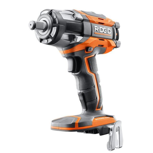 Ridgid R86034 18v 18 Volt X4 Lithium Cordless Impact Driver Gun 2 B46047b For Online Ebay
