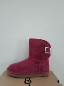 2df342fc455 Details about Ugg Australia Women's Remora Buckle Crystal Boots Size 6 NIB