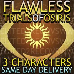 TRIALS OF OSIRIS | FLAWLESS X3 | XBOX / CROSS SAVE