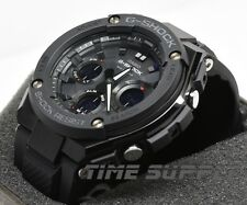 New Casio GSTS100G-1B G-Shock G-Steel Black Solar Ana-Digital Men's Watch