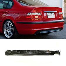 Fits For Bmw E46 M Tech Sedan 99 04 Carbon Fiber Rear Bumper Diffuser Lip
