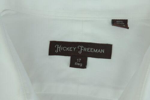 shirt casual Hickey katoen Xlarge Freeman Xl twill witte heren luxe kPnw80O