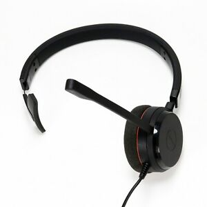 Jabra-Evolve-20-Mono-Headset-USB-Wired-Skype-Zoom-Good-Clean-Condition-Tested