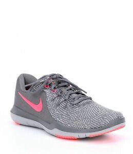 11ee71863ea3 NIB Nike Flex Supreme TR 6 Sneakers Gunsmoke Hot Punch 909014-003 ...