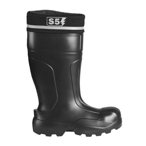 EVA Sicherheitsstiefel S5 Gummistiefel Stahlkappen Gummisohle Arbeit Bau Stiefel