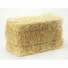 Mini Straw Bales are made of wheat & come individually wrapped. Pack 2