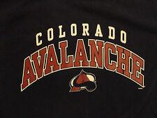 NHL BLUE THERMAL COLORADO AVALANCHE HOCKEY L JERSEY SHIRT FREE US SHIPPING