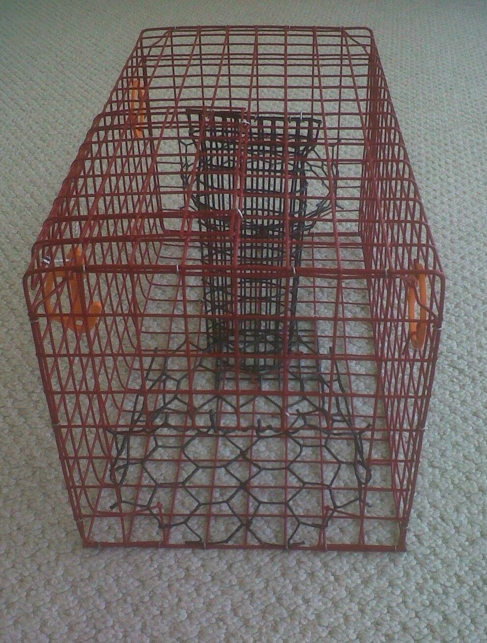 PVC Commercial ROT Commercial PVC Grade Crab Pot / Trap With 50 Foot Line & Grün 5x11 Float 9d1c72