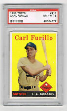 1958 Topps Carl Furillo #417 Baseball Card