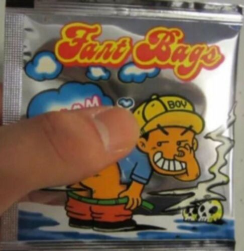 5x Fart Bomb Bags STINK BOMBS Fun Boom Party Bag Filler Jokes Pranks Magic Joke