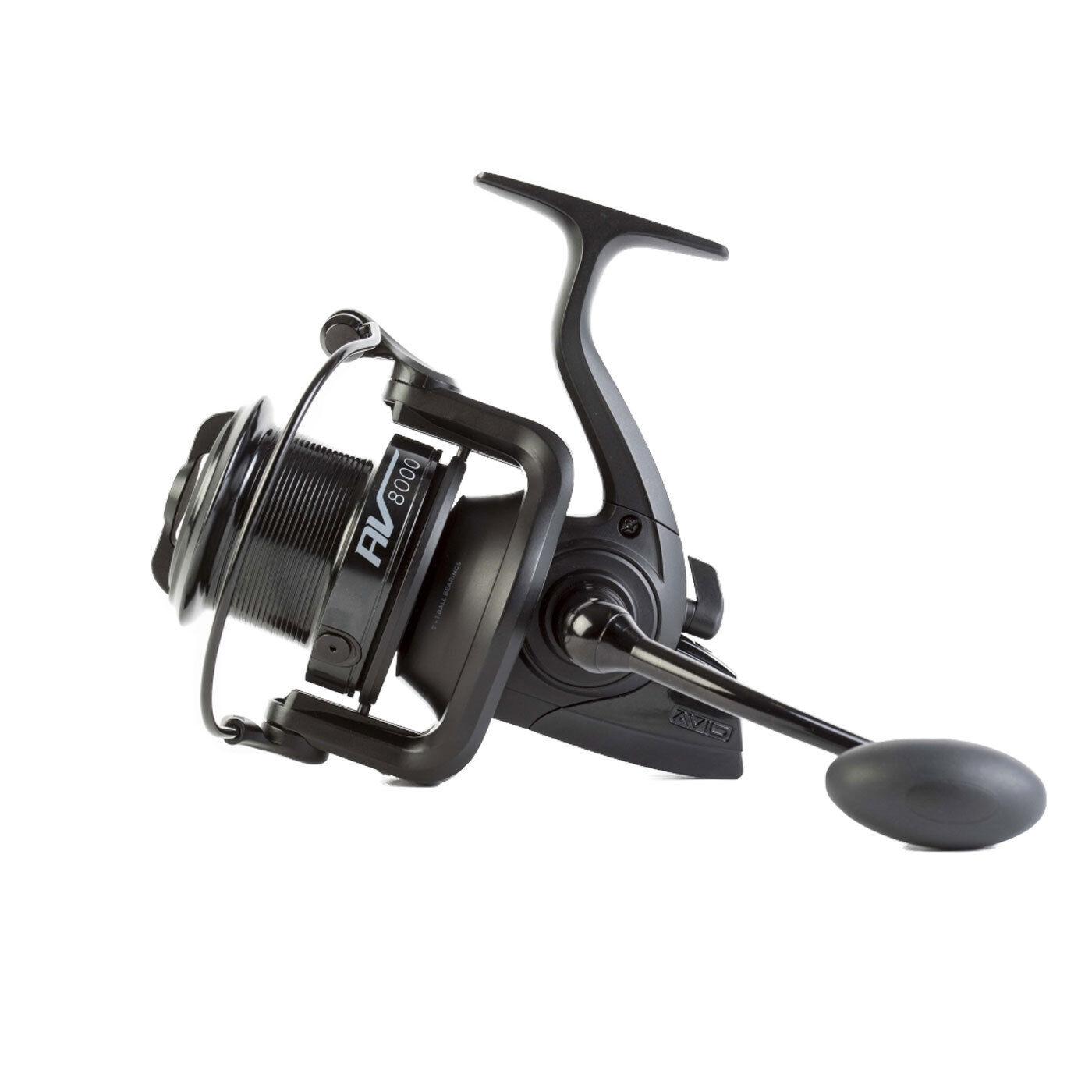 Avid Carp AV8000 Carrete de Pesca de Carpa  Totalmente nuevo para 2018 19