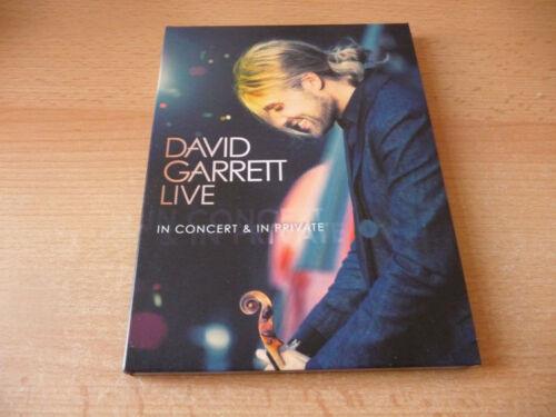 1 von 1 - DVD David Garrett - Live - In Concert & In Private - 2009