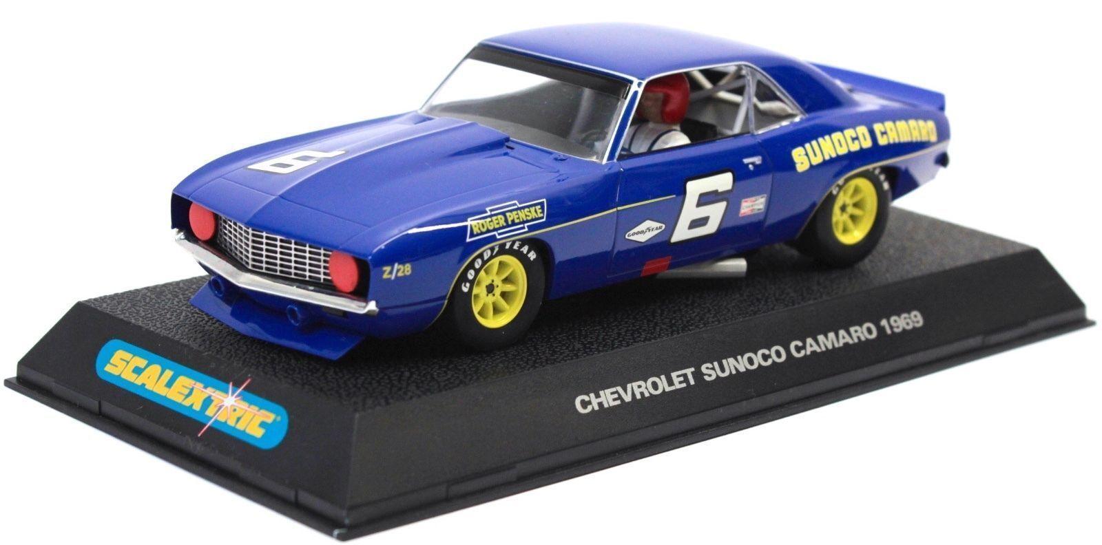 Scalextric - C2399 Chevrolet Camaro 1969 N°6 - NEW