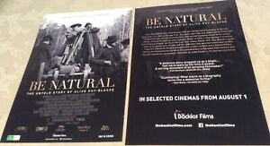 Promotional-Movie-Flyer-Be-Natural-Alice-Guy-Blache-NOT-A-DVD