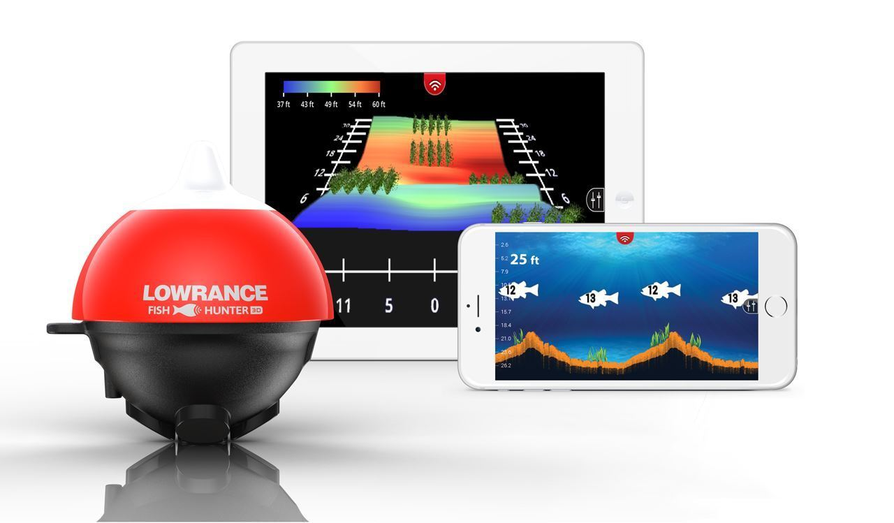 Lowrance Fish Hunter 3D   Castable Wireless Fishfinder