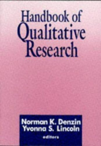 Handbook of Qualitative Research by Lincoln, Yvonna S.