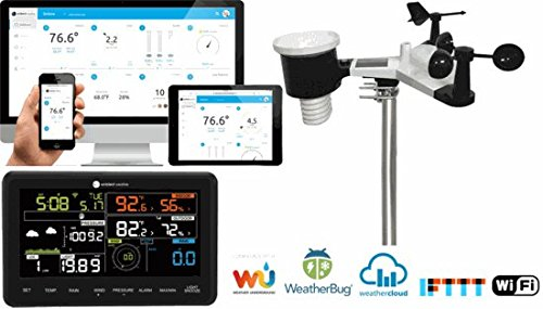 Ambient Weather WS-2902A Smart WiFi Weather Station with Remote Monitoring and