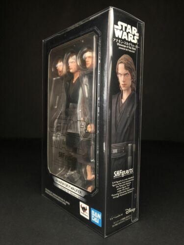 Star Wars Bandai S.H Figuarts Anakin Skywalker Rots PROTECTEUR DISPLAY CASE