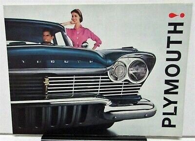 1957 Plymouth Belvedere Plaza Savoy Suburban Full Line Sales Brochure
