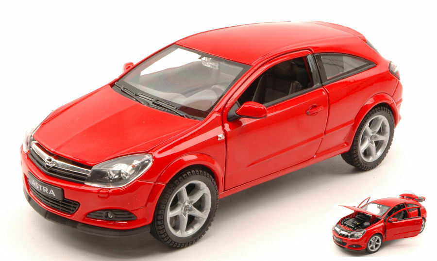 Opel ASTRA GTC 2005 Red 1 18 Model 2563r Welly