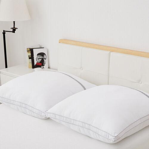 BedStory 2x Kopfkissen Kissen 3D Microfaser Classic 80x80x22cm 3000g CertiPUR-US