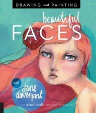 PAINTING AND DRAWING FACES - JANE DAVENPORT (PAPERBACK) NEW - ART BOOK