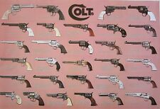 "COLT ""PISTOLS"" POSTER FROM ASIA - Firearms, Ammunition, Handguns, Revolvers"