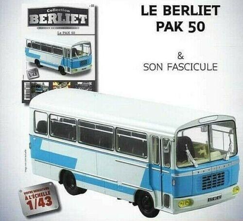 Bus Berliet PAK 50 1:43 New in Box diecast model Truck autocar vehicle