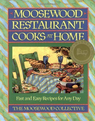 1 of 1 - Moosewood Restaurant Cooks at Home: Creative..., Moosewood Collective 0671679929