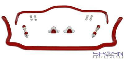 Front & Rear Solid 4140 Chrome Moly Sway Bars Set | 1964-1972 GM A-Body