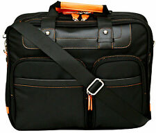"-15.4"" Laptop Bag Briefcase Business Case Notebook Computer With Shoulder Strap"
