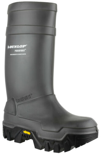 Purofort unisexes Safety Bottes Uk5 Dunlop 13 caoutchouc Explorer en Total imperméables TXFSEaq