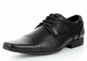 MENS-SMART-BLACK-LACE-UP-LOAFERS-MOCCASINS-WORK-WEDDING-SHOES-SIZES-6-11