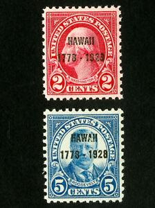 US-Stamps-647-8-XF-Choice-OG-NH