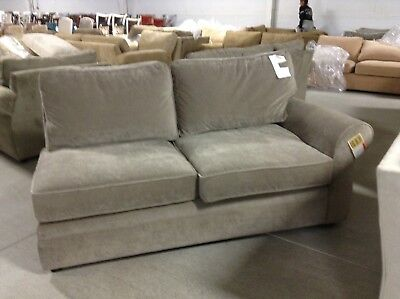 Super Pottery Barn Pearce Couch Sofa Sectional Pewter Velvet Right Ocoug Best Dining Table And Chair Ideas Images Ocougorg