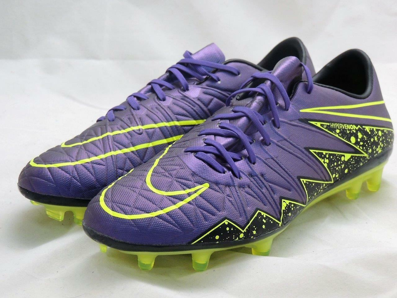 New shoes for men and women, limited time discount Nike Hypervenom Phinish FG HyperGrape Men Comfortable