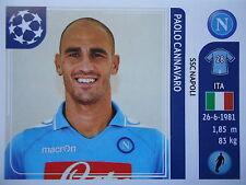 Panini 58 Paolo Cannavaro SSC Napoli UEFA CL 2011/12