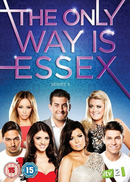 The Only Way Is Essex Complete Series 5 DVD All Episodes Fifth Season UK Release