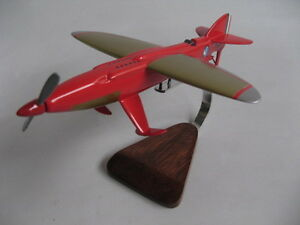 piaggio pegna pc-7 p-7 airplane desktop wood model | ebay