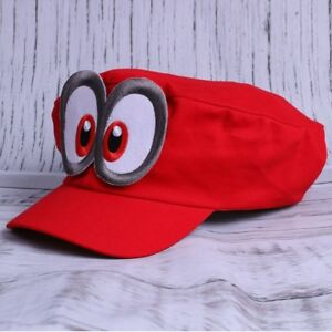 Super-Mario-Odyssey-Hat-Kappe-Cap-Nintendo-Switch-Toys-Kids-Gifts-Red-Bros