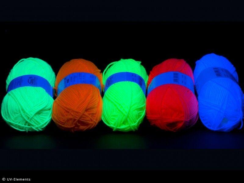 Neonstoff 1m Deko Schwarzlicht UV-aktiv